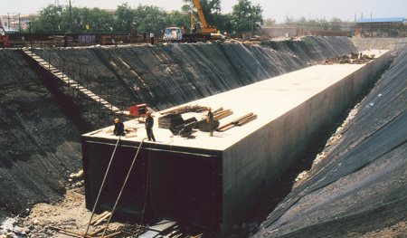 Lugou Bridge Concealed Culvert Project of South-to-North Water Diversion Project